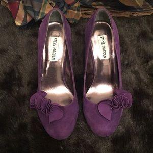 🦊Steve Madden Topazz purple sexy heels.